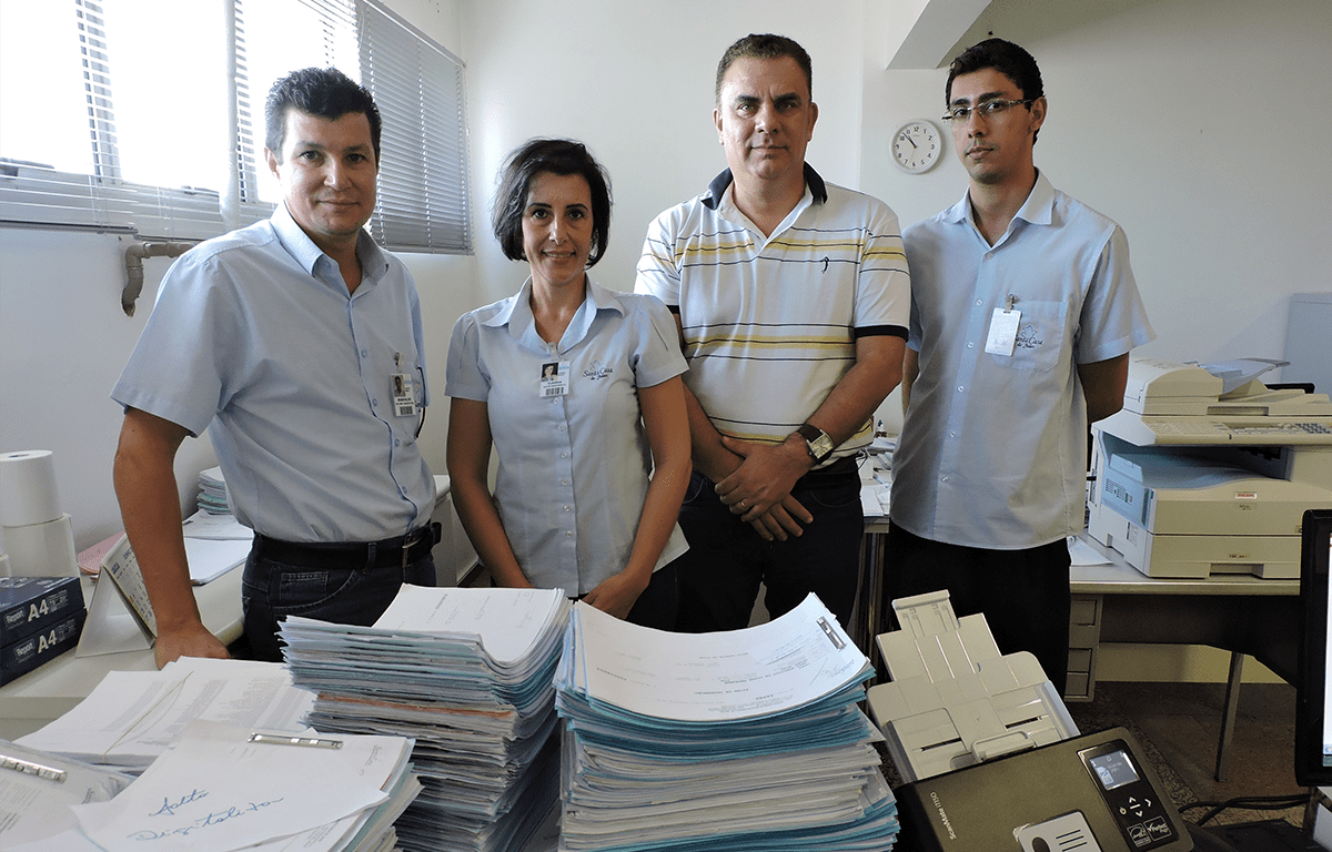 Santa Casa de Jales implanta sistema de digitalização de arquivos