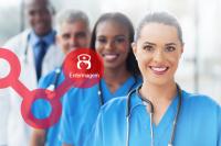 Equipe assistencial de hospital