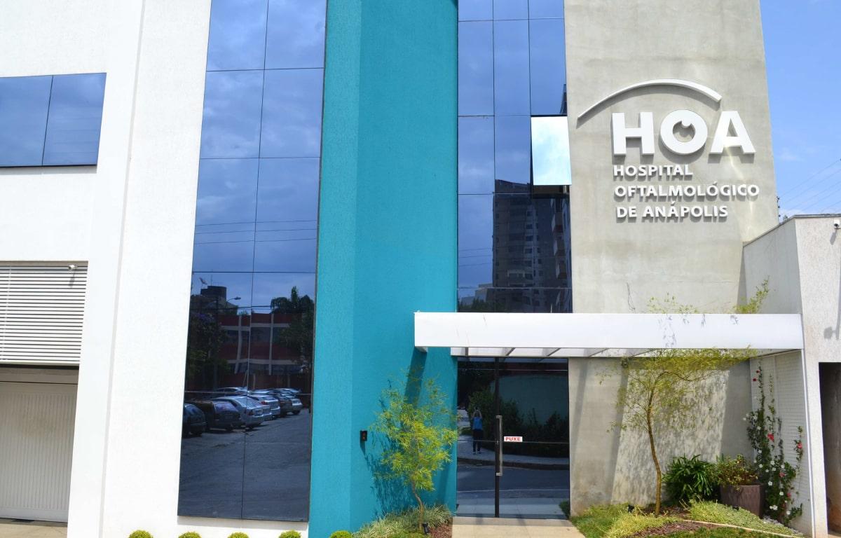 Hospital Oftalmológico de Anápolis, o 1º com assinatura digital em GO