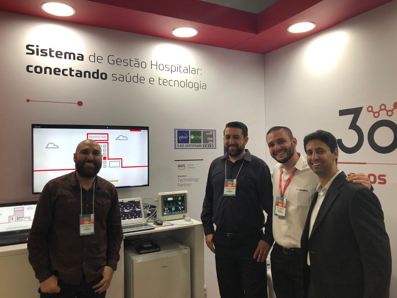 Inovação: APP e IoT são destaques das soluções da Wareline em Congresso da Fehosp