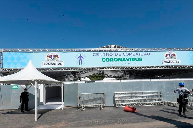 Tecnologia da Wareline dá suporte em hospitais de campanha