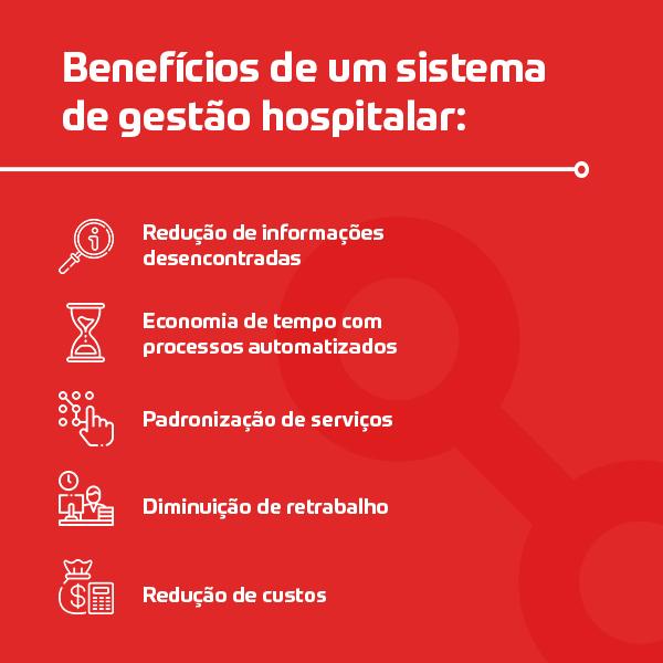 Benefícios de um sistema de gestão hospitalar